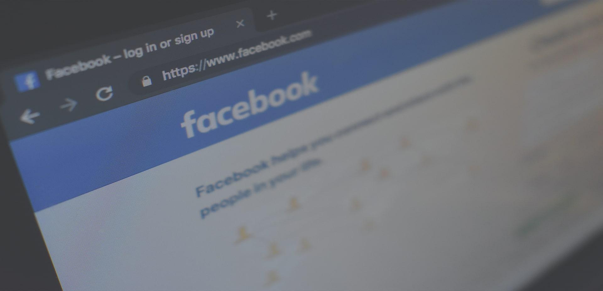 Error entre perfil personal y página de empresa en Facebook